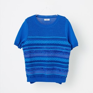 COOHEM SUMMER SOLID TWEED PULLOVER