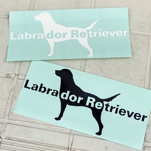 【L】Labradorステッカー