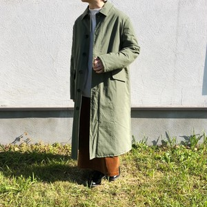 Quilt Lined Mac Coat | yarmo