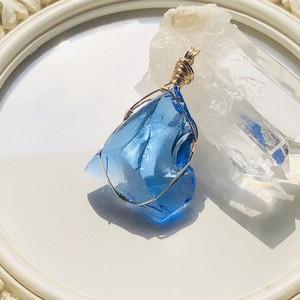 シエラネバダ産アンダラクリスタル★宝石質~Gem Celestial Sapphire ~【世界で1つだけのアンダラペンダントトップ】