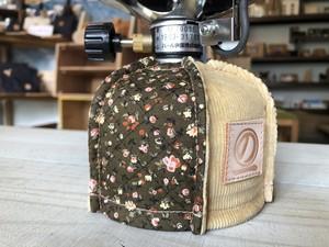 限定品!! Chokai noichi outdoor ガスドレス ガスカートリッジカバーOD缶 250g用 花柄