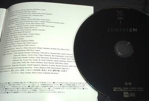 【CDのブックレットに名前を記入】