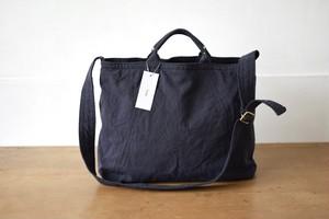 Utility Bag・navy gray(ショルダー紐調節タイプ)/ TEJIKA