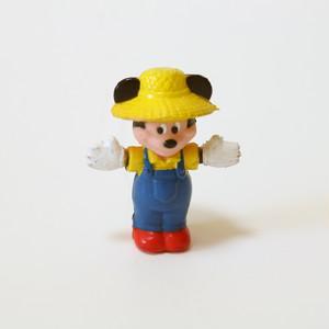 MICKEY MOUSE Farmer figure ・ミッキーマウス ミニ フィギア U.S.A