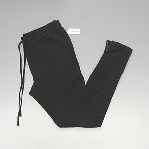 【FOG公式サプライヤー】 PACSUN オリジナル サイドジップ スウェットジョガーパンツ ブラック