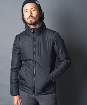 NYLON THINSULATE STAND RIDER JACKET