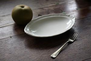 Villeroy and Boch オーバルレリーフ皿