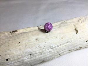 パワーストーン 【クラック水晶 ラベンダー】 天然石 チャーム