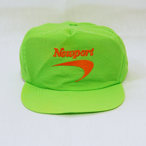 """Newport"" Nylon Snapback Cap Used"