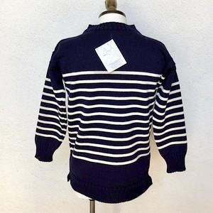 Guernsey Sweater Wollens Striped Made In England/UK38