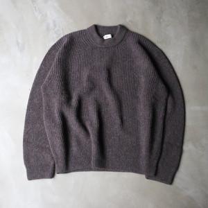 unfil / royal baby alpaca sweater