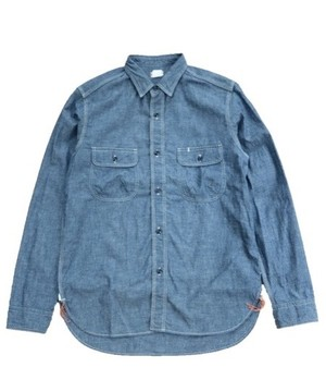 SUNNY SPORTS/サニースポーツ W-POCKET WORK SHIRTS 14FW    SN10F011N0