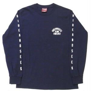HIDEANDSEEK(ハイドアンドシーク) / TEAM FAR EAST L/S TEE(HT-080417)(ロングスリーブTシャツ)