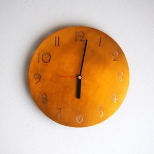 真鍮 丸時計  23cm