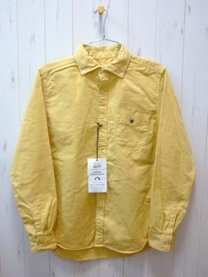 BARNS Oxford B.D Shirt BR-4965 (バーンズ オックスフォード ボタンダウンシャツ/ワイドスプレッド)