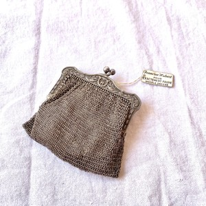 1800~1900's(!) French Antique Coin Purse with Box(!) #02