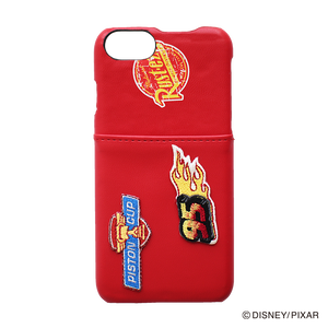 DISNEY・PIXAR/Cars/iPhoneケース Embroidery/ YY-D007 RD