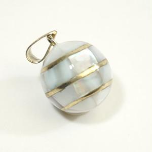 オルゴールボール・貝殻白