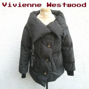 【国内正規品】VW/ヴィヴィアンウエストウッド レッドレーベルVivienne Westwood RED LABEL/ダウンジャケット/黒/