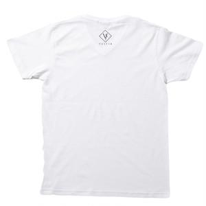 Vestia logo White T-shirt Vneck
