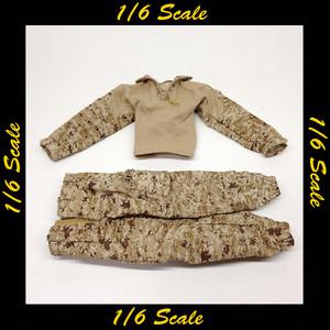 【01001】 1/6 DAMToys USMC 26th MIO 戦闘服