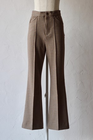 【Needles】c.s. leisure pant-gunclub plaid