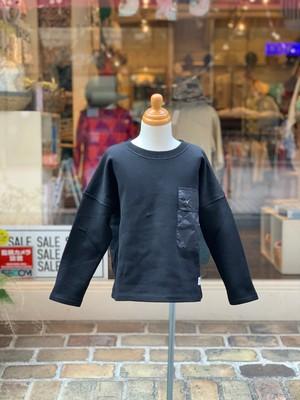 KIDS&WOMENS:6°vocale【セスタヴォカーレ】タスコーネプルオーバー(ブラック/130〜160cm)