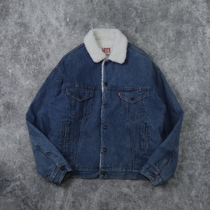 80's Levi's 70609 Boa jacket 80年代 リーバイス ボアジャケット ランチコート 古着 A613