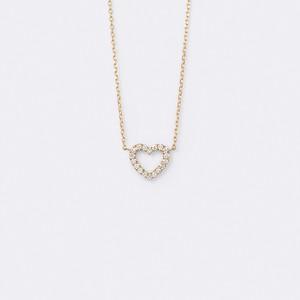 ENUOVE Le Coeur Necklace K18YG(イノーヴェ ルクールネックレス K18イエローゴールド)