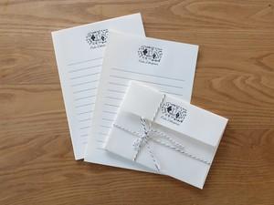 【活版印刷】Letter set  [ forest ]