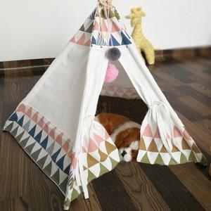 ティピー室内用ペットテント&おもちゃのお片付け収納