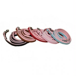 ec4589823762617 刻印首輪専用ツートーンレザーリードSサイズ(犬用リード)(幅1.5cm/長さ120cm)