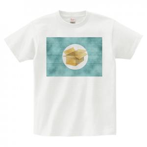 #2. 質問箱オフィシャル Tシャツ (前面プリント ダメージ加工)