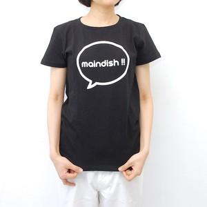 maindish CLASSIC LOGO T / BLACK