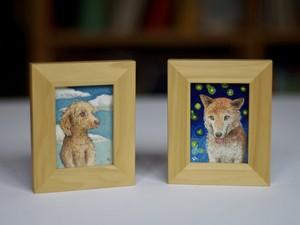 [受注製作] 犬の肖像画