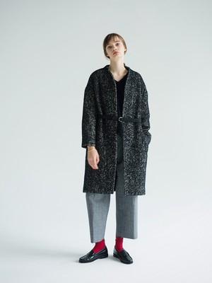 【予約品】herringbone tweed coat