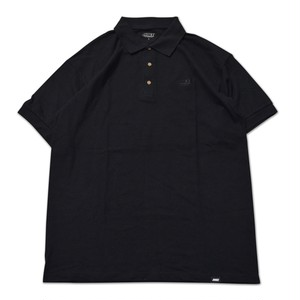 JHAKX / LENT POLO -BLACK-