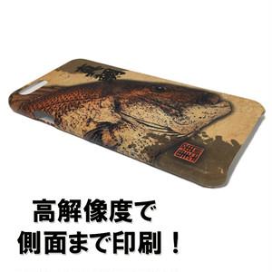 スマホケース【浪人鯵(ロウニンアジ)・ハードタイプ】