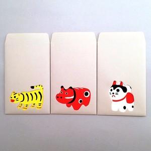 ユニーク紙雑貨 切り絵のぽち袋 hariko
