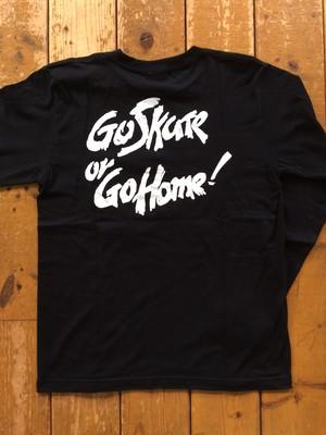 [ 坩堝 ] GO SKATE GO HOME L/S TEE
