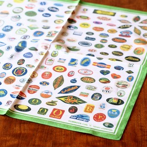 FRUIT LABELS HANDKERCHIEF