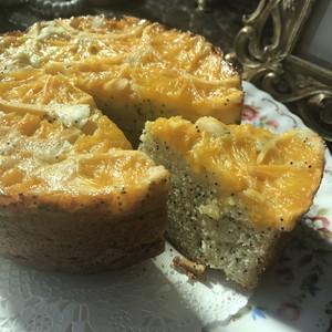 オレンジポピーシードケーキ