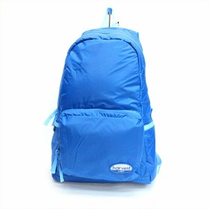 HARVEST LABEL 「NEO PARACHUTER」 PACKABLE BACKPACK <BLUE>