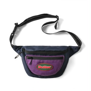 BUTTER GOODS TRAIL HIP PACK NAVY/PURPLE