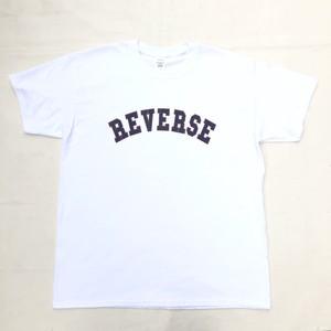 REVERSE ORIGINAL TEE - WHITE