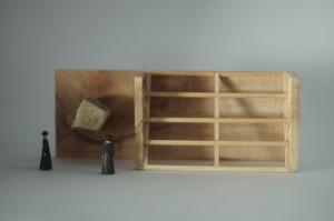 (039)wood figure-mini &structure L 木箱入 02