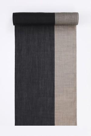 ゆかた / 綿麻縮 / 七三 / Beige(With tailoring)