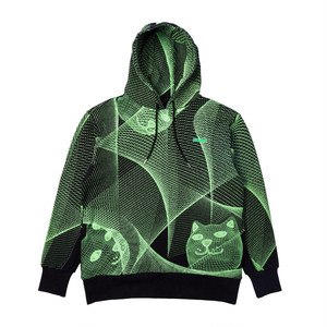 RIPNDIP - Future Trip Glow In The Dark Hoodie (Black)