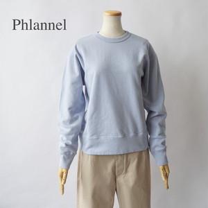 PHLANNEL SOL/フランネルソル・Suvin Cotton Sweatshirt