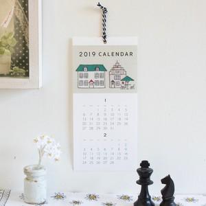 【予約販売】2019年 紙刺繍カレンダーキット【発送は10月22日〜】